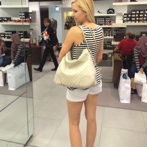 Gucci brand new white purse